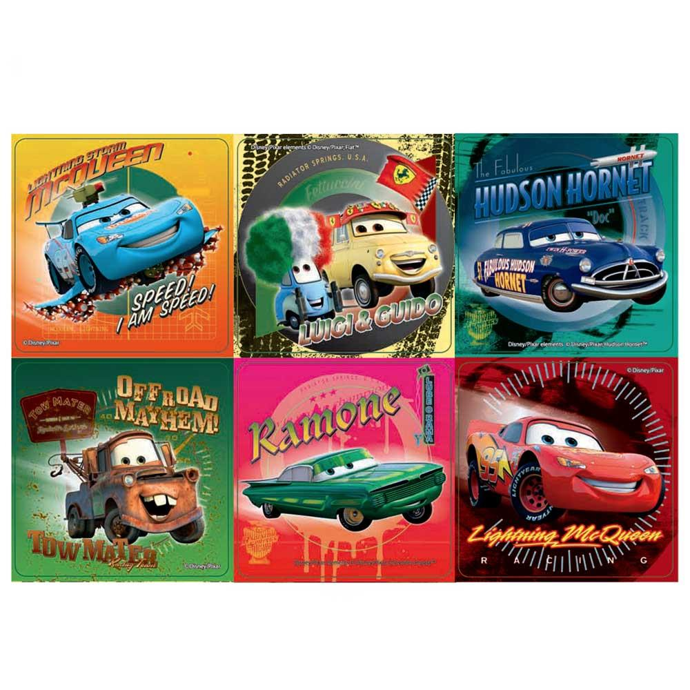 Disney Cars Supercharged Stickers x 100