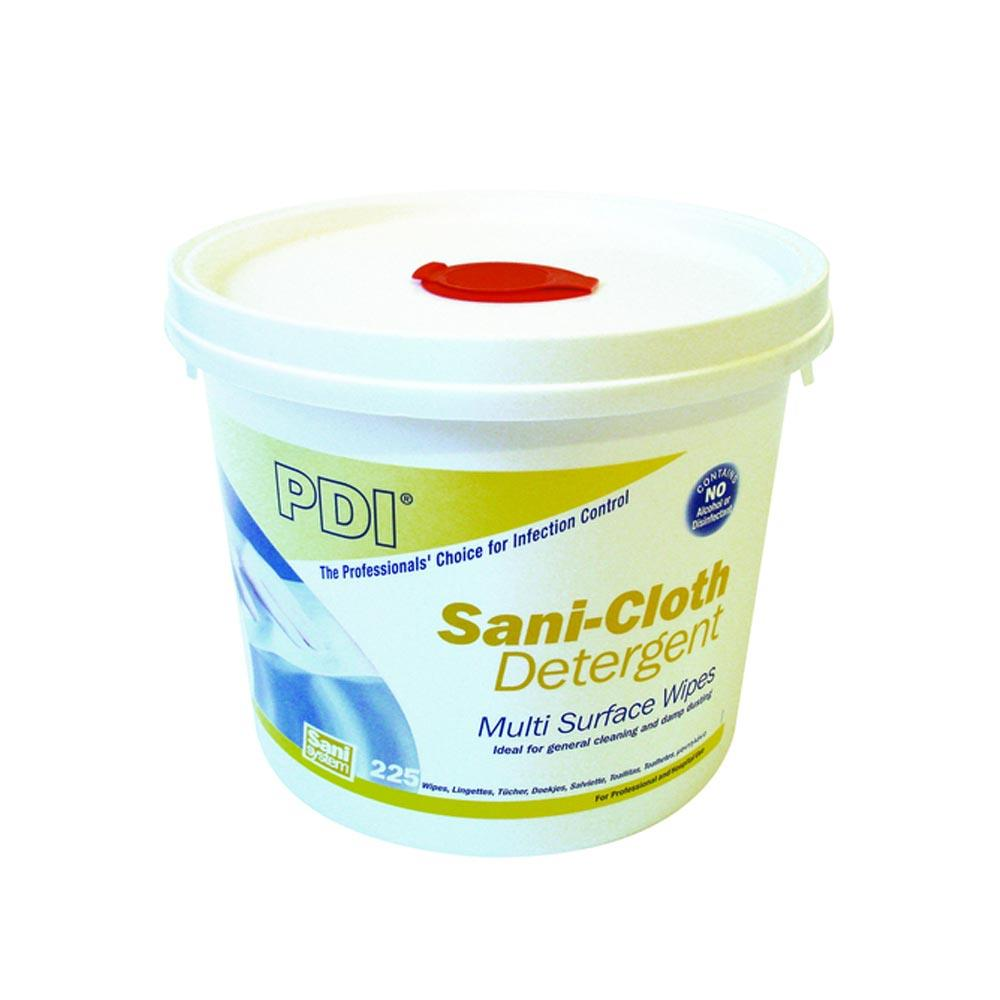 Sani-Cloth Detergent Wipes x 225 (bucket)