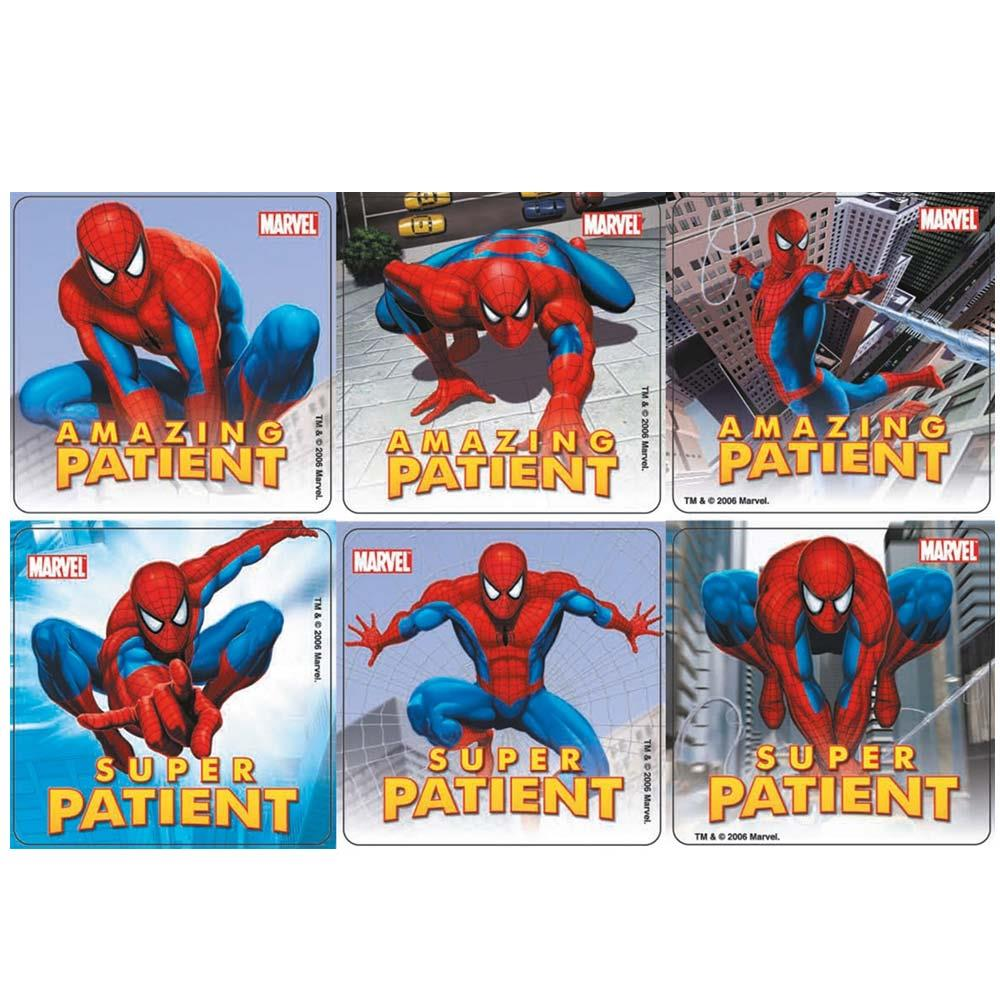 Spider Man Stickers x 100