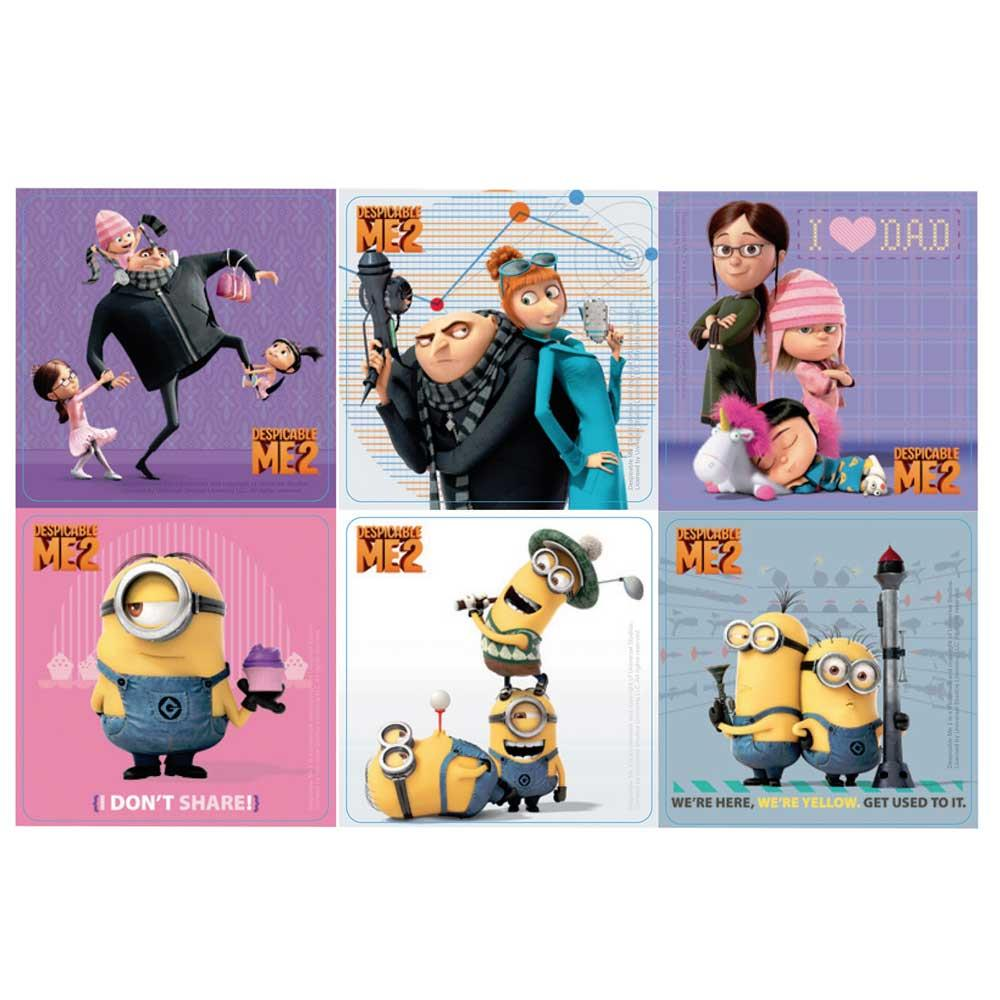 Despicable Me 2 Stickers x 100
