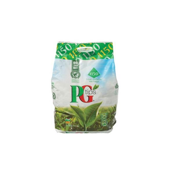 """ PG Tips Pyramid Tea Bags - Pack of 1,150"""