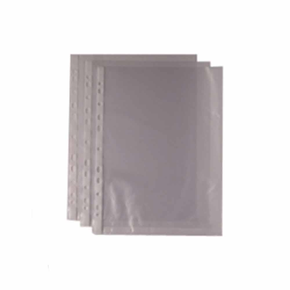 Wb Punched Pocket A4 Clr 270486 Pk100