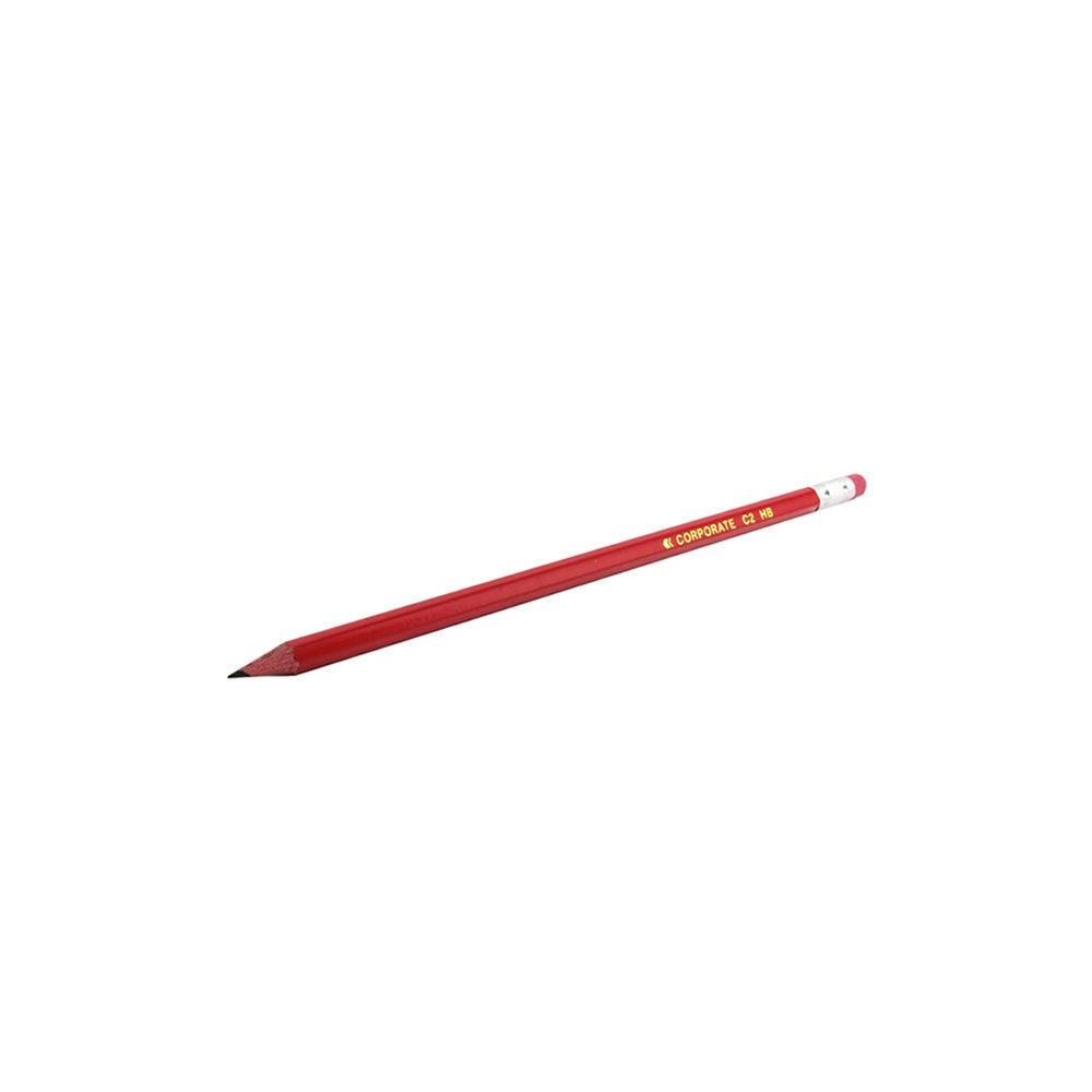 Contract Pencil Eraser-Tipped x 12